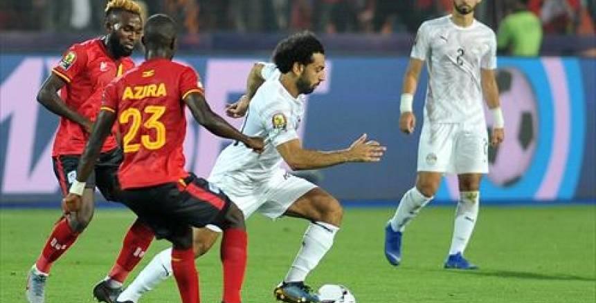 بالفيديو  مصر في دور الـ 16 من أمم أفريقيا بانتصار باهت على أوغندا