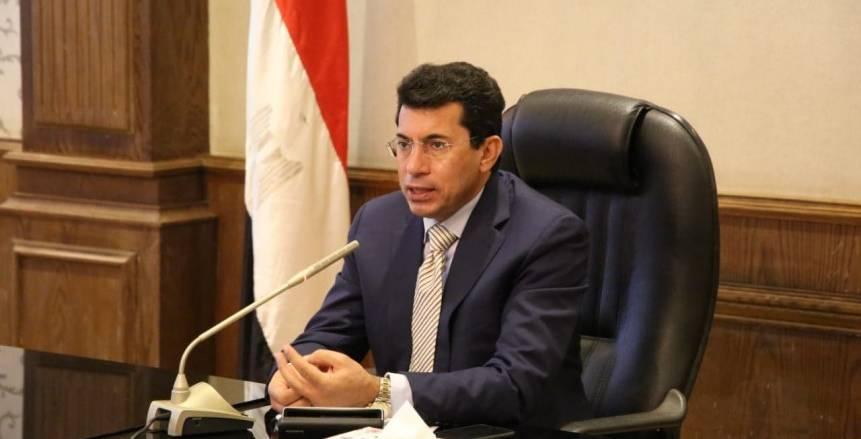 وزير الرياضة عن أزمة الزمالك واللجنة الأولمبية: سنطبق القانون