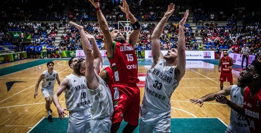 كرة سلة| نيوزيلندا تهزم لبنان مستضيفة كأس آسيا.. وكوريا تتخطى كازاخستان