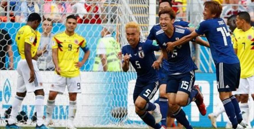 صور مباراة كولومبيا واليابان