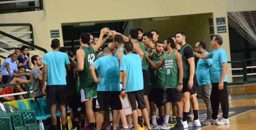 الاتحاد السكندري يقسو على الألماني السوداني في البطولة العربية بنتيجة 125- 46