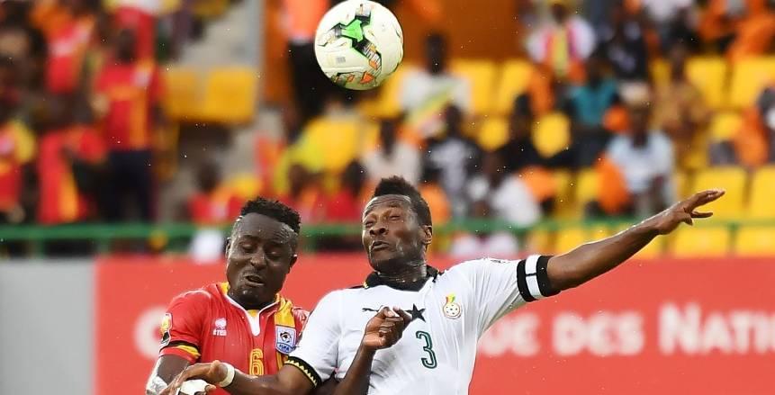 مباراة غانا وأوغندا في أمم أفريقيا 2017