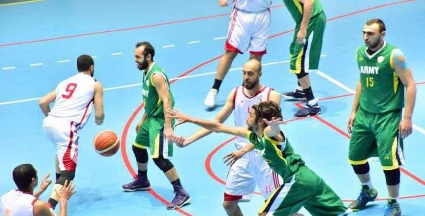 كرة السلة| الزمالك يواصل مطاردة سبورتنج بالفوز على التأمين