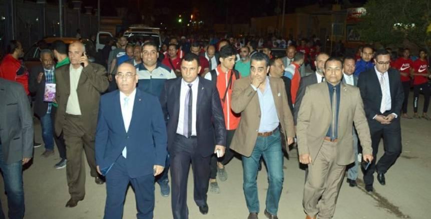 1200 لاعب في بطولة كأس مصر للكارتيه يدلون بأصواتهم على التعديلات الدستورية بأسوان