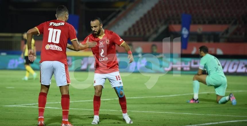 صور مباراة الأهلي ووادي دجلة