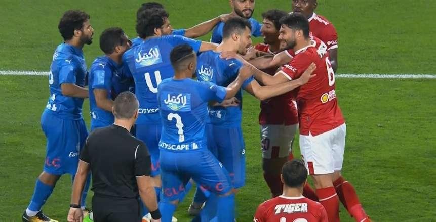 ترتيب الدوري المصري قبل قمة الزمالك والأهلي