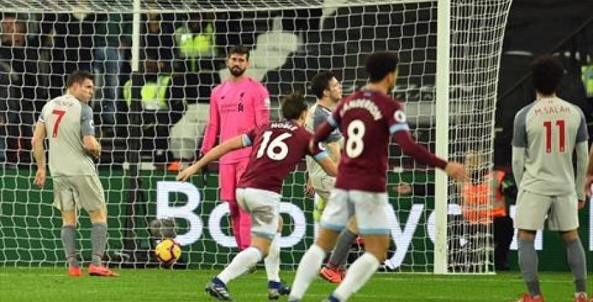 الموعد والقنوات الناقلة لمباراة وست هام ضد ليفربول في الدوري الإنجليزي