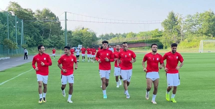 محاضرة ومجموعتان.. تفاصيل تدريب منتخب مصر الأولمبي استعدادا للأرجنتين