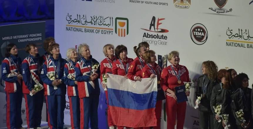 ذهبيتان لإنجلترا وسيدات روسيا تخطفن صدارة السيف فى بطولة العالم لرواد السلاح