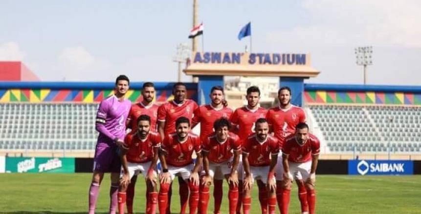 مباشر لحظة بلحظة لمباراة الأهلي ضد أسوان (5-1).. نهاية المباراة