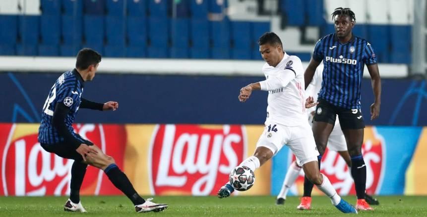 مواجهة قوية بين ريال مدريد وأتلانتا في دوري ابطال اوروبا