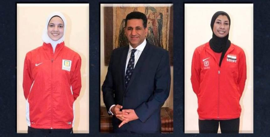 هداية ملاك ورضوي رضا يشيدان بجهود السفير المصرى بصربيا