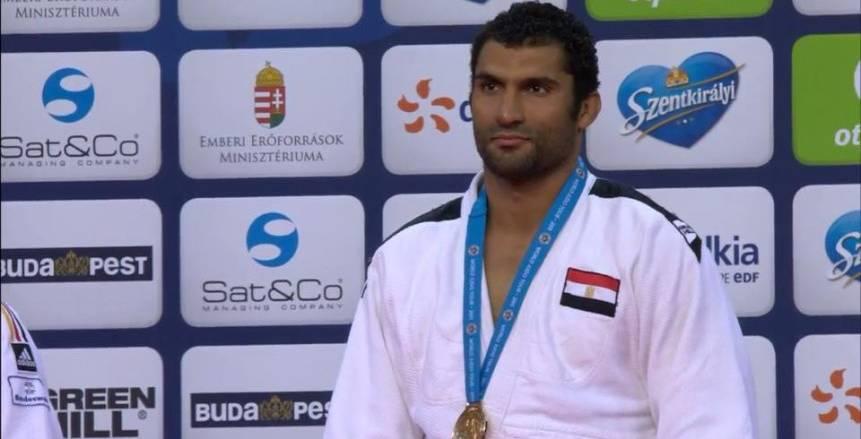 لاعب منتخب مصر للجودو يكشف كواليس حصوله على الذهبية في بطولة كندا