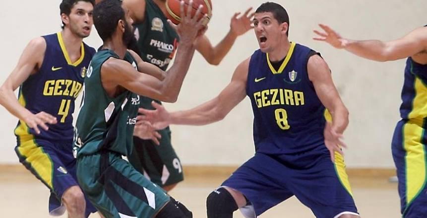 """تكريم """"الجزيرة"""" بطل دورى السلة"""
