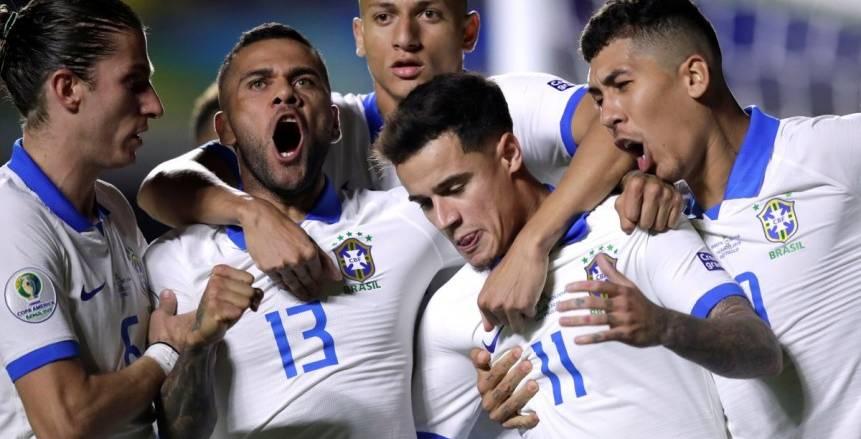 البرازيل تكسر نحس القميص الأبيض فى افتتاح كوبا أمريكا