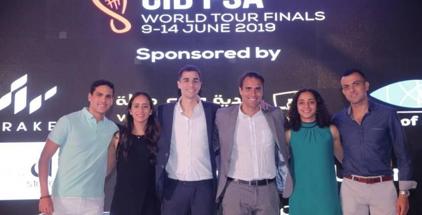أندية وادى دجلة تنظم بطولة CIB PSA World Tour2018-2019
