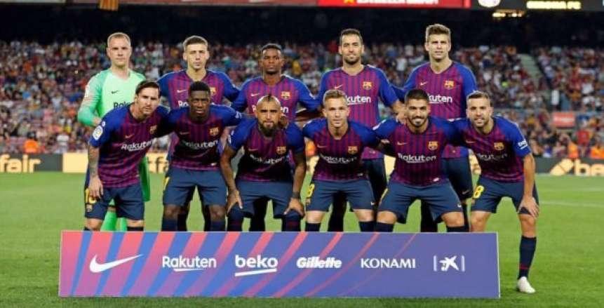 18 لاعبا في قائمة برشلونة لمواجهة بلد الوليد