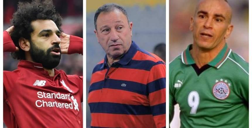 محمد صلاح يكتسح الخطيب وحسام حسن في استفتاء ماركا على أفضل لاعب بتاريخ مصر