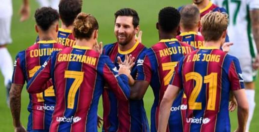 برشلونة يقلب الطاولة على إشبيلية ويتأهل إلى نهائي كأس إسبانيا