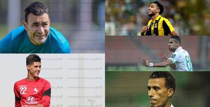 قبل 6 جولات على نهاية المسابقة.. 12 لاعباً مصرياً يتحكمون فى مصير الدورى السعودى للمحترفين