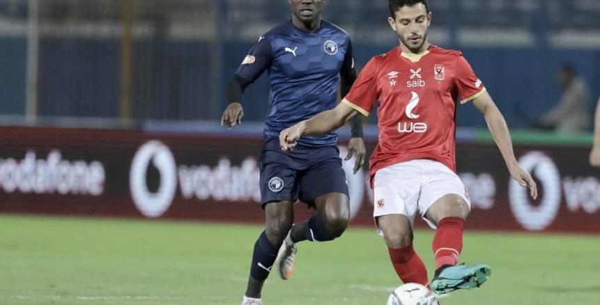 ترتيب الدوري المصري بعد تعادل الاهلي وبيراميدز اليوم