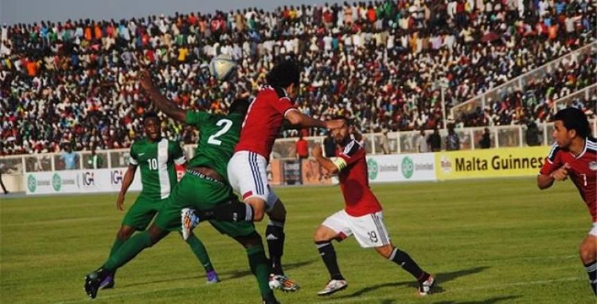 بالفيديو| بهدف في الثانية الـ8.. منتخب مصر يستسلم أمام نيجيريا في الشوط الأول