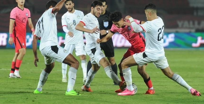 التعادل السلبي يحسم مواجهة منتخب مصر الأولمبي أمام كوريا الجنوبية