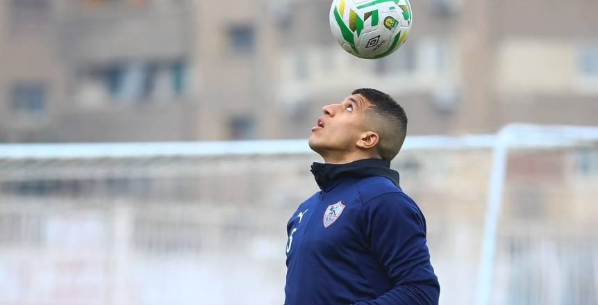 الزمالك يهنئ محمد عبدالغني بعيد ميلاده الـ27