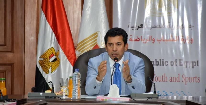 وزير الرياضة يوجه مساعديه للتفتيش على مراكز الشباب وإحالة المقصرين للتحقيق