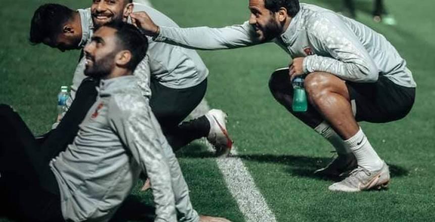 تدريب الأهلي في الدوحة قبل مواجهة بايرن ميونيخ بكأس العالم للأندية