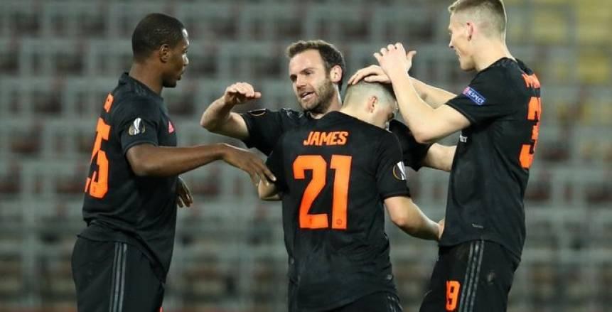 الصفقات الجديدة تزين قائمة مانشستر يونايتد في دوري أبطال أوروبا