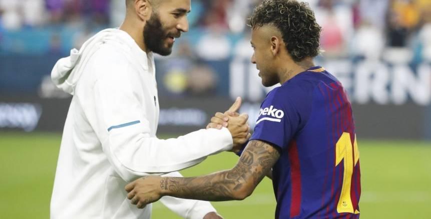 «نيمار» يودع زملائه في ريال مدريد