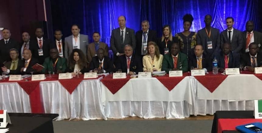 الجمعية العمومية الأفريقية تشيد بالتايكوندو المصري