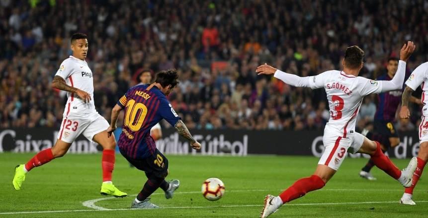 كأس ملك إسبانيا  موعد مباراة برشلونة ضد إشبيلية والقنوات الناقلة