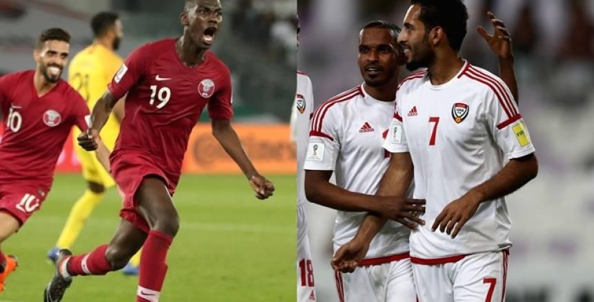 كأس أمم آسيا| شاهد.. بث مباشر لمباراة الإمارات ضد قطر