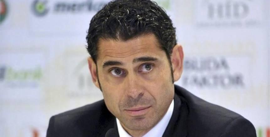 هييرو يتولى تدريب المنتخب الإسباني خلفاً لـ«لوبيتيجي»