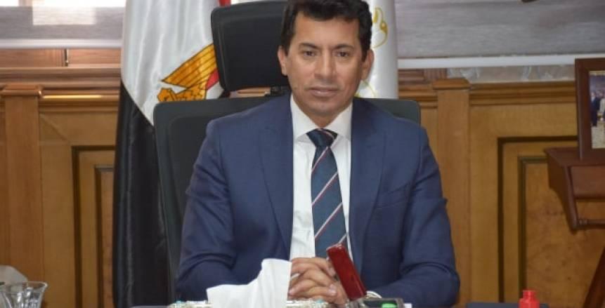 وزير الشباب: مستمرون في دعم الأندية المتضررة تنفيذا لتوجيهات القيادة السياسية
