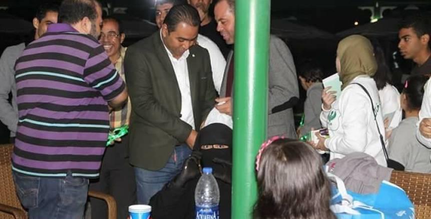 بالصور| هدايا من مرشحي النادي المصري لأعضاء الجمعية العمومية