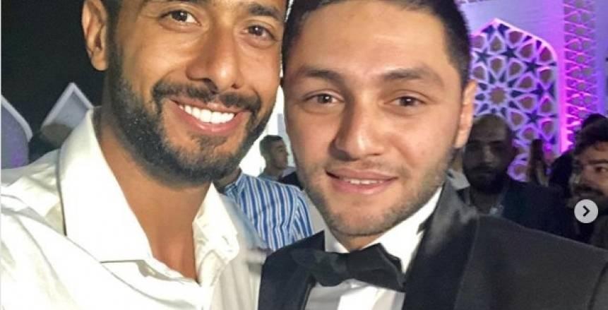 بالصور.. الخطيب ونجوم الأهلي في حفل زفاف كريم نيدفيد