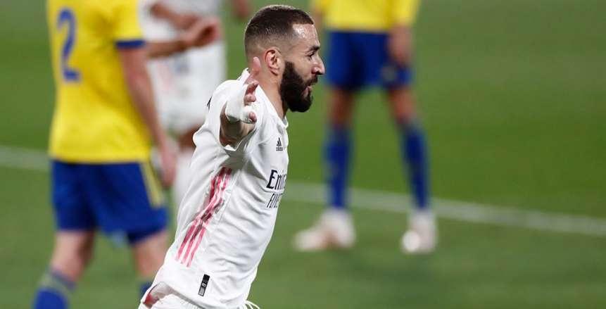 ريال مدريد يفوز على قادش بثلاثية ويتصدر ترتيب الدوري الإسباني «فيديو»
