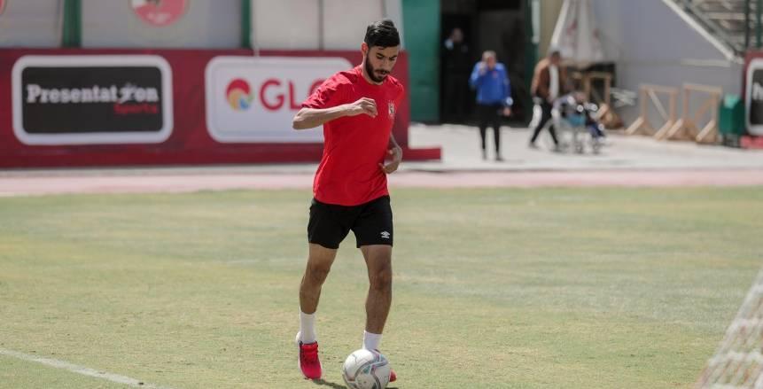 ناصر ماهر يخوض تدريباته منفردا في الأهلي بعد استبعاده من لقاء سيمبا