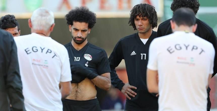 «أبو ريدة» يطالب اللاعبين بالتركيز في المباراة وعدم الإلتفات للشائعات