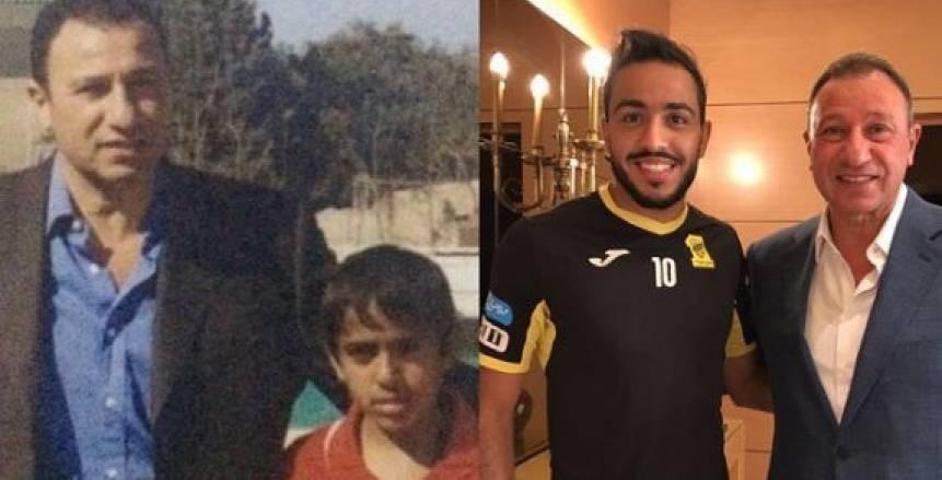 """كهربا ينشر صورته مع الخطيب: """"من إمتى كان الأسد عامل حساب الرعاع"""""""