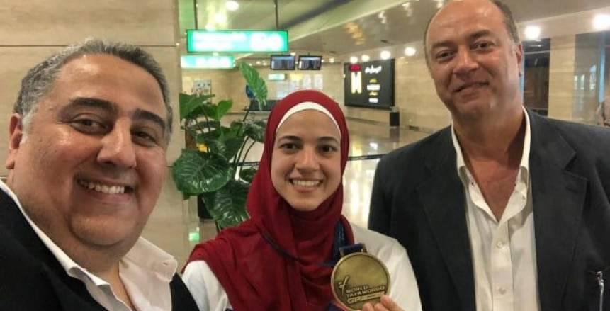 بالصور| هداية ملاك تعود لمصر ببرونزية الجائزة الكبرى