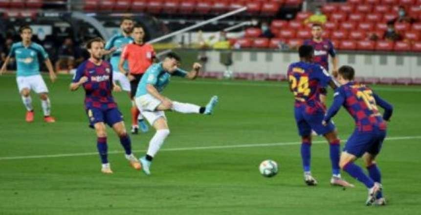 برشلونة يتلقى هزيمة مفاجئة من خيتافي في الدوري الإسباني