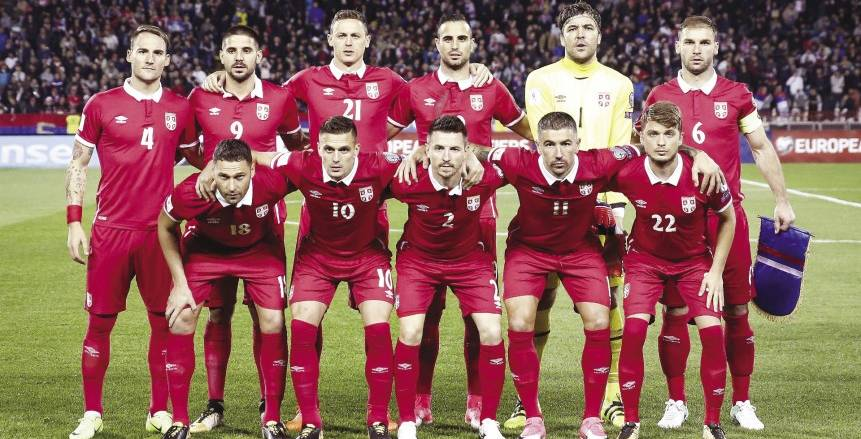 صربيا تعلن تشكيلتها لمواجهة سويسرا