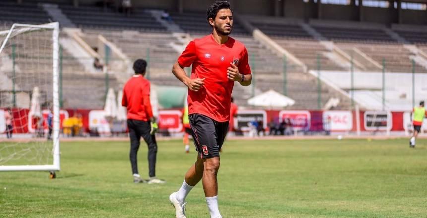حمدي فتحي: أشكر فايلر على ثقته رغم غيابي 9 أشهر.. والأداء سيتحسن مع المباريات