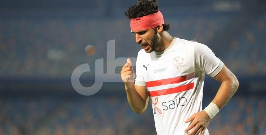 فرحة الونش بهدفه في إنبي.. وإصابة محمود علاء بقطع في الرأس
