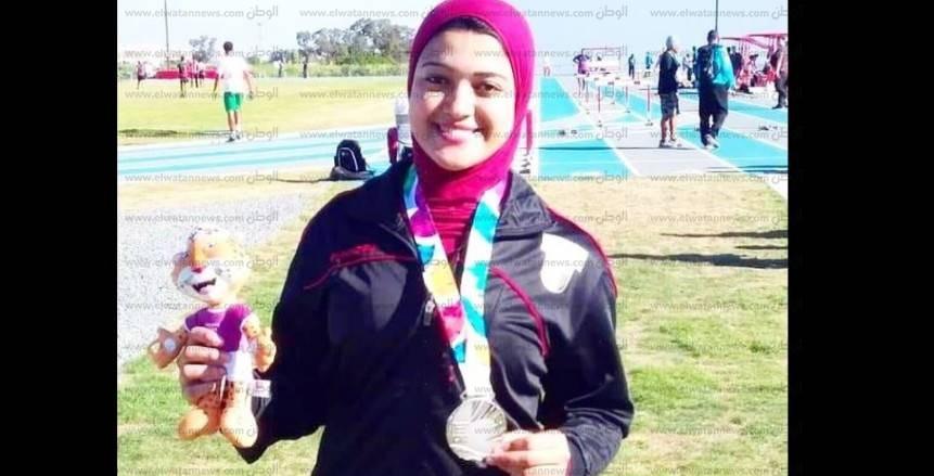 أوليمبياد الشباب| نعمة وروان الفضيات للفتيات