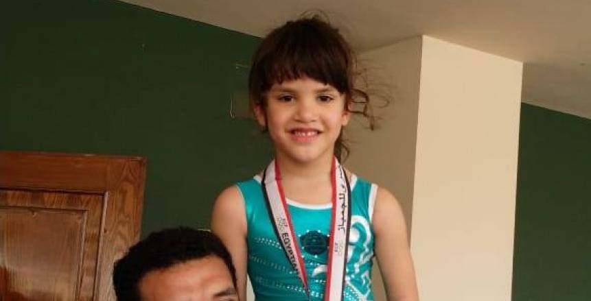 هدى مختار تحقق المركز الأول في بطولة الجمهورية للجمباز